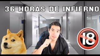 MI PRIMERA GUARDIA EN UN HOSPITAL | STORYTIME | 36 HORAS DE INFIERNO