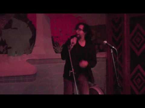 "Dan karaokes ""Scatman"" by Scatman John on October 24, 2016 at The Backyard, Gainesville, FL"
