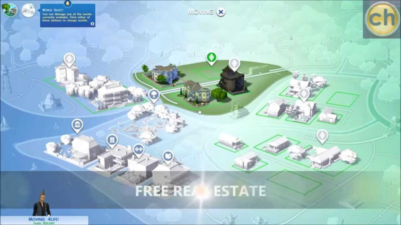 sims 4 cheats free real estate