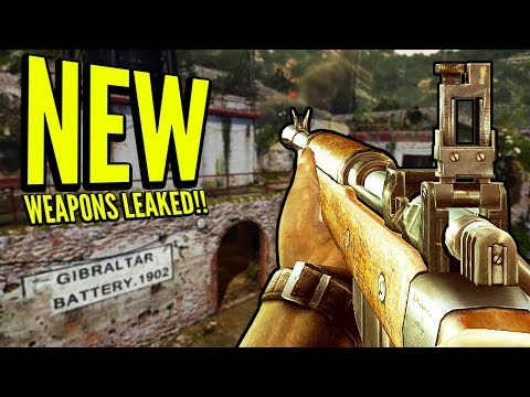 COD WW2 NEW Guns & Supply Drops LEAKED (ICE PICK, TRENCH KNIFE, BERETTA 38)