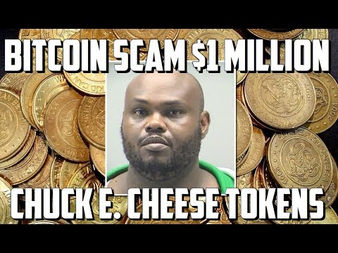BitCoin SCAM: Man Arrested After Making Over $1 Million Selling Chuck E. Cheese Tokens As BTC (FAKE)