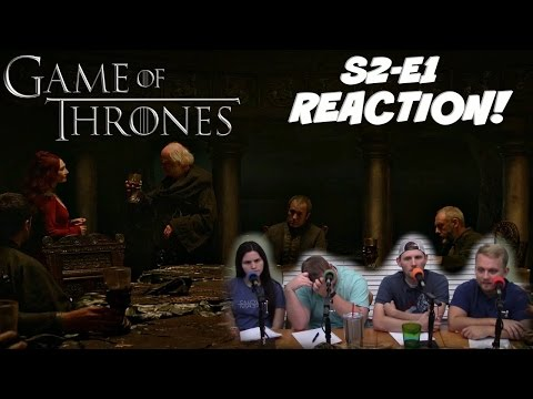 "Game Of Thrones Season 2 Episode 1 REACTION! ""The North Remembers"" REACTION!"