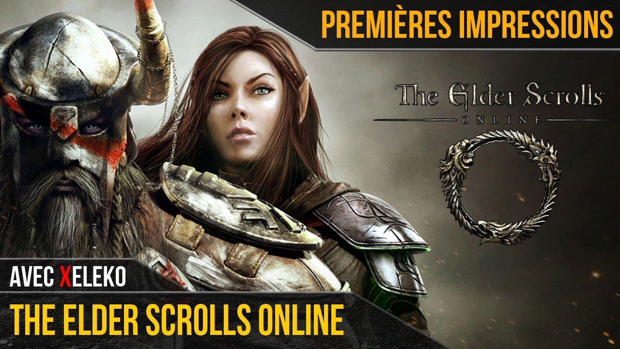 The Elder Scrolls Online | PREMIÈRES IMPRESSIONS avec Xeleko
