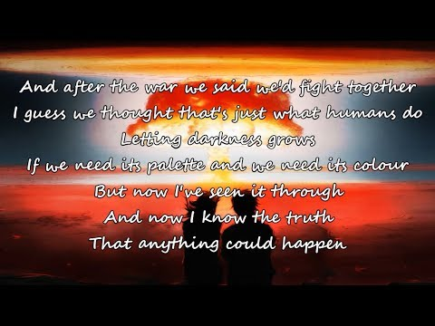 Caroline Pennel (The Voice USA) - Anything Could Happen - Lyrics