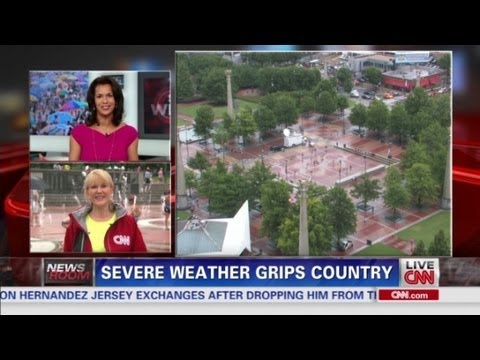 Severe weather grips country