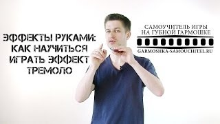Как научиться играть эффект тремоло во время игры на губной гармошке