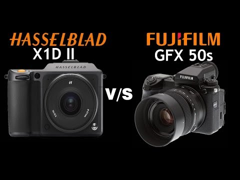 Repeat Hasselblad X1D Mark ii vs Fujifilm GFX 50s   Quick