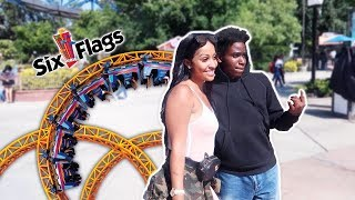 I SPENT A DAY AT SIX FLAGS WITH...
