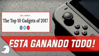 Nintendo Switch supera al iPhone X -  La mejor Tecnologia del año - ¡Mas premios! - Tocby