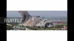 North Korea: Inter-Korean liaison office blown up amid heightened tensions *STILLS*
