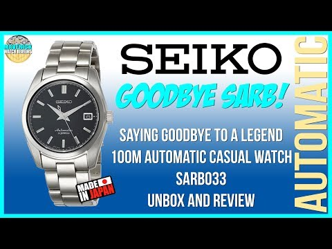 Goodbye SARB! | Seiko 100m Automatic Casual Watch SARB033 Unbox And Review