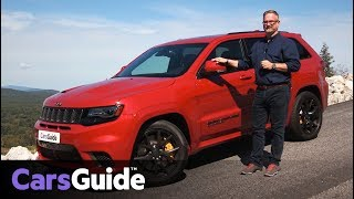 Jeep Grand Cherokee Trackhawk 2017 review: first drive video