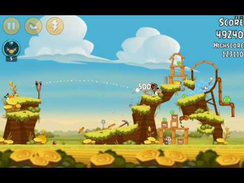 Angry Birds-Piggy Farm Level 33-10 Three Star Walkthrough