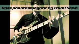 Bass Phantasmagoric played by I.sawa sago original jazz bass Backin...