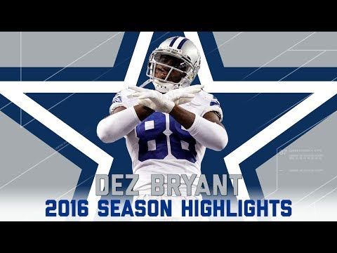 Dez Bryant's Best Highlights from the 2016...