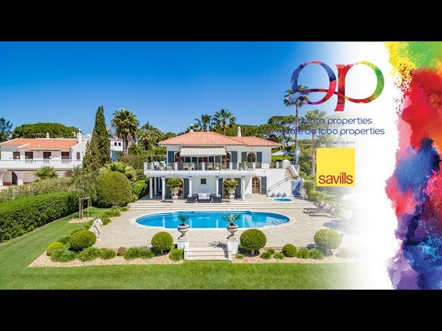QP Savills - Ref: 83933QP - Spectacular lakefront property with amazing views in Quinta do Lago