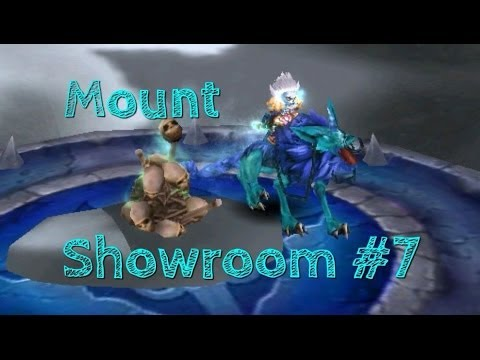 Order & Chaos: Online - Mount Showroom #7 - Frost-Marked Charging Undead Dog