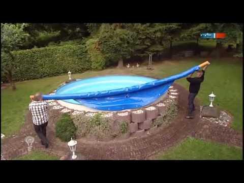 rundpool einbau rundbecken einlassen stahlwandpool rund - youtube, Hause und Garten