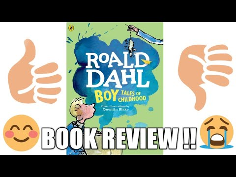 (Book Review) BOY By Ronald Dhal!!😀😁