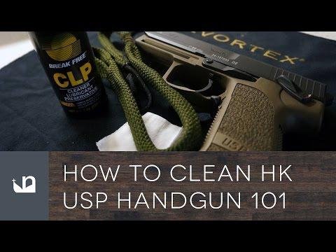 How To Clean HK USP Handgun 101 - Heckler & Koch Cleaning