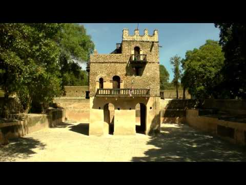 Ancient City of Gondar , Ethiopia palaces &castles in 4k (ultera HD) 2017
