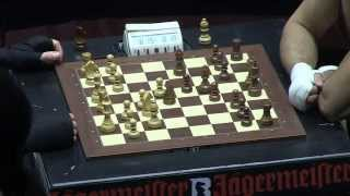 1-st Match 1-st Chess Round 2013-11-29 World Championship Chessboxing