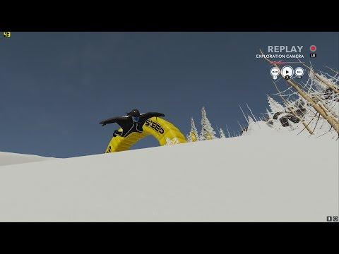 [Steep Open Beta] Wingsuit stunts