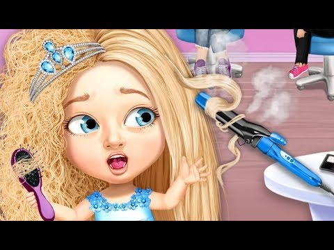 Sweet Baby Girl Beauty Salon 3  Hair Nails  Spa Makeover Games For Girls by TutoTOONS  YouTube