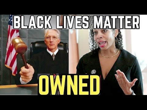 White Judge Utterly Destroys Black Lives Matter Race Baiter In Court Room