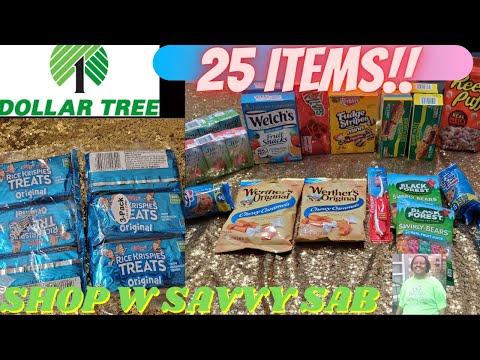 Extreme Couponing @Dollar Tree 🌳 W Savvy Sab!|25 Items For $12!!🤑|Savvy Sab Saves Money!|Shop W Me!