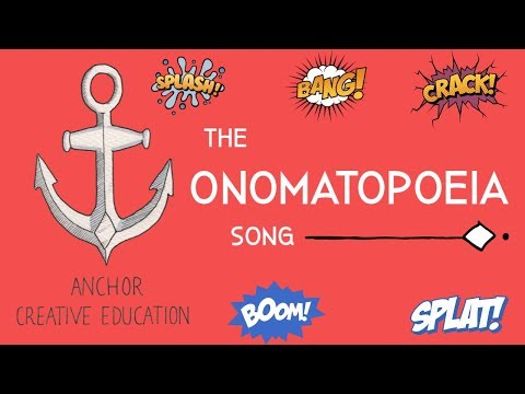 The Onomatopoeia Song