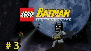 Прохождение LEGO Batman - The Videogame # 3 (ГОНКИ!) / Видео