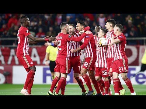 Highlights:  -   2-2 / Highlights: Olympiacos - Dynamo Kyiv 2-2