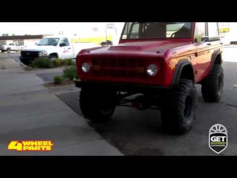 Ford Bronco 1974 Build by 4 Wheel Parts Oklahoma City, OK