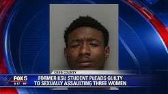 Former KSU student pleads guilty to sexual assault