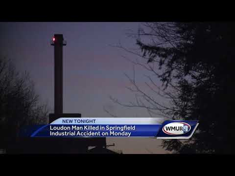 Loudon man killed in Springfield industrial accident Monday