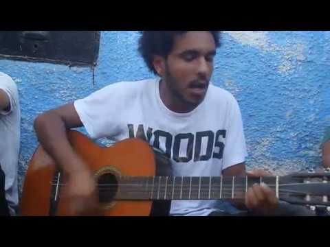 Street art performance 2 -Rabat-