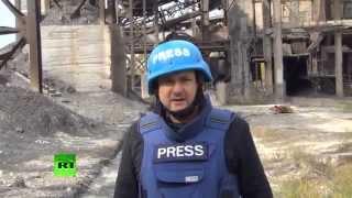 Военная операция Киева разрушила инфраструктуру угледобывающих предприятий на востоке Украины