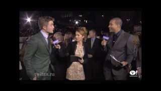 Robert Pattinson, Kristen Stewart: arrivals, photo together, carpet, interviews