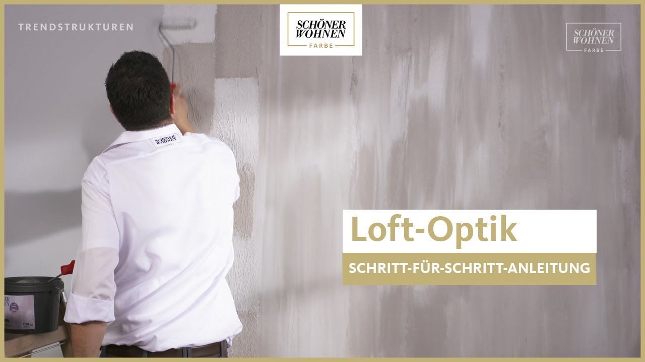 Schoner Wohnen Trendstruktur Loft Optik Moderner Used Look Youtube
