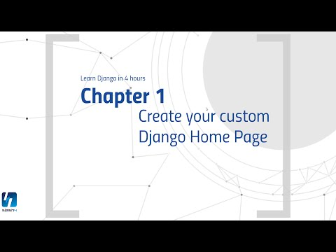 Create custom Homepage with Python Django