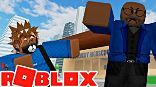 ROBLOX SKIT: DETENTION AFTER SCHOOL!!!