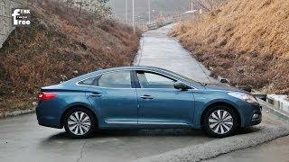 2014 Hyundai Azera (Grandeur) Hybrid Test Drive #2 (City Fuel Economy, others)