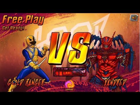 Nick Games: Super Brawl 3 Good Vs. Evil - Gold Ranger Vs. Xandred