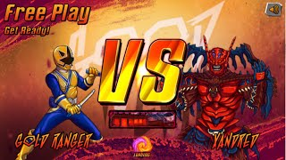 Nick Games: Super Brawl 3 Good Vs. Evil - Gold Ranger Vs. Xand…