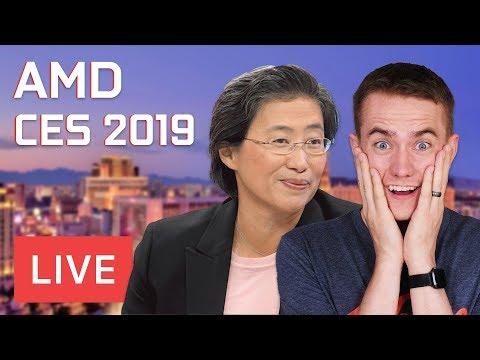 AMD'S BIG DAY  - CES Live Stream!