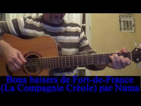 Joyeux Noël: Bon baiser de Fort-de-France (La compagnie Créole) cover guitare voix