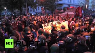 Germany: Riots break out on Berlin May Day