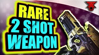 Destiny | 2017 RARE 2 SHOT SCOUT RIFLE! BEST SCOUT RIFLE EVER! REVIEW & GAME PLAY! TRIALS of OSIRIS!