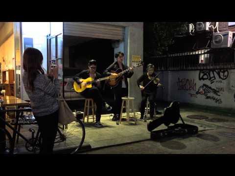 Most talented street musician in Seoul, Hongdae university neighbourhood